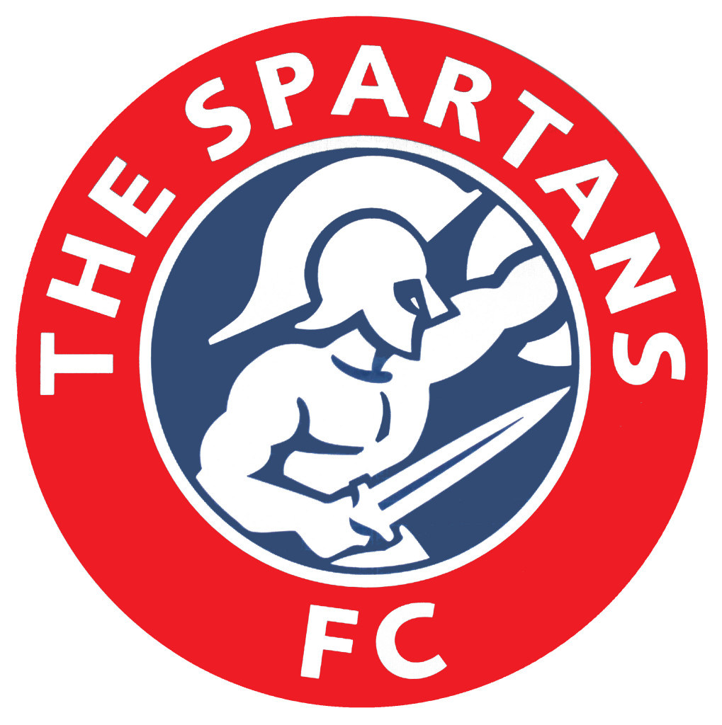 Spartans badge Large round