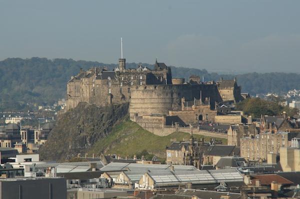 TER Edinburgh Castle from Arthur's Seat