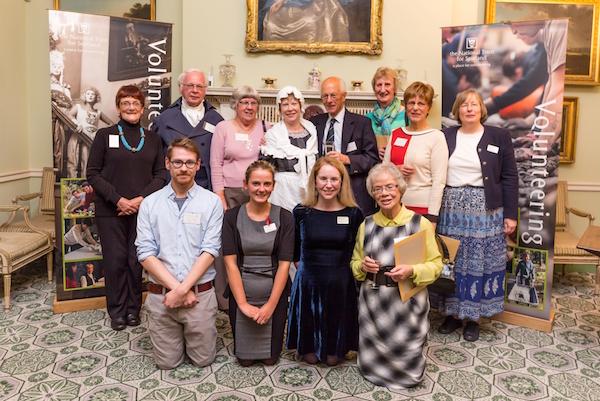 Vol of the Year 2014 Georgian House volunteers