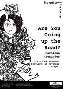 are you going up the road