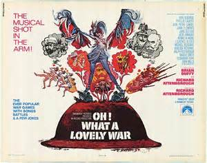 oh what a lovely war film poster
