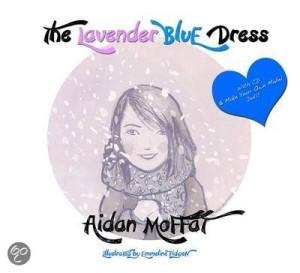 the lavender blue dress cover