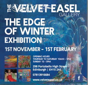 velvet easel edge of winter poster 2