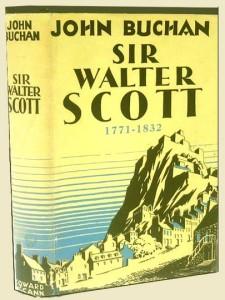 Buchan's biography of Scott book cover