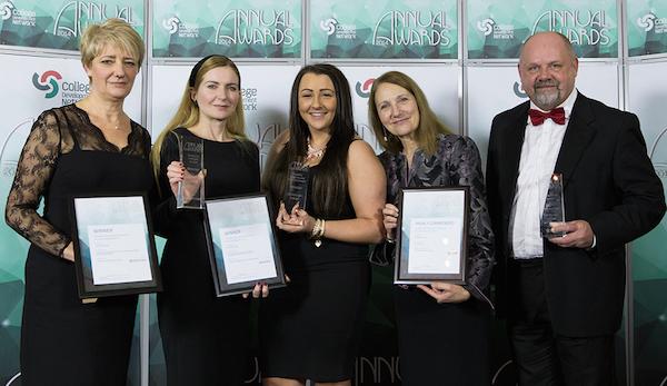 College Development Network Awards winners