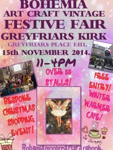 bohemia craft fair at greyfriars
