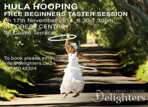 hula hooping poster