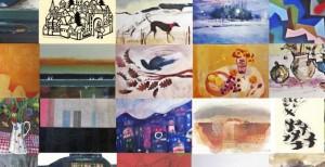 open eye postcard exhibition 2014
