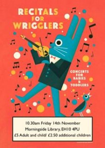 recitals for wrigglers poster