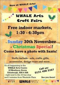 whale christmas craft fair
