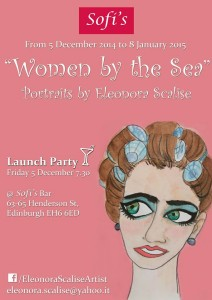 women by the sea exhibition poster