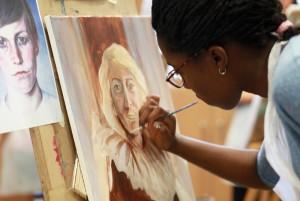 BP Portrait workshop photo at Portrait Gallery