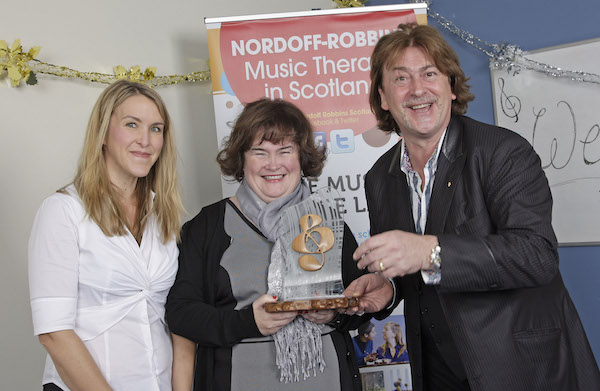 Janet Halton, Donald MacLeod, Susan Boyle Fans Choice Award - Therapy Session