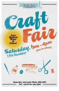 boda's craft fair december 2014