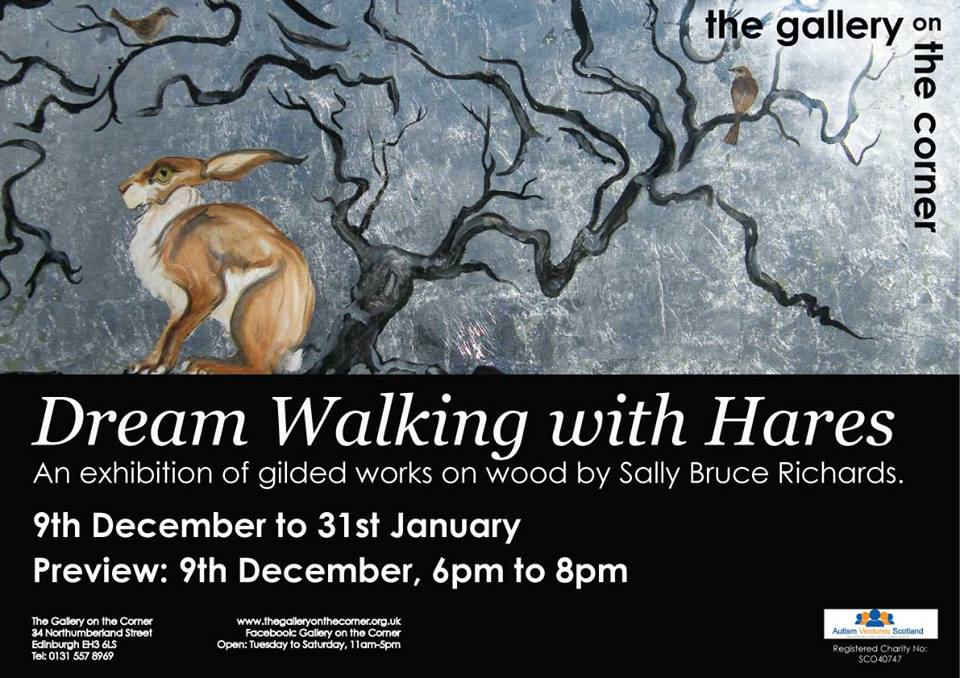 dream walking with hares poster