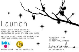 hedgerow & bon_tot launch poster