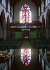 portobello and joppa parish church stained glass window