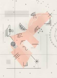 David Lemm Debris and Phenomena exhibition image - Printmakers January 2015