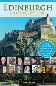 Edinburgh Celebrity City Guide book cover