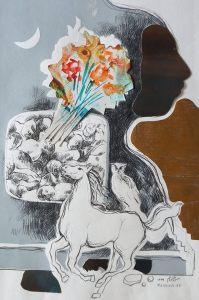 Hassan Mekinfam exhibition image