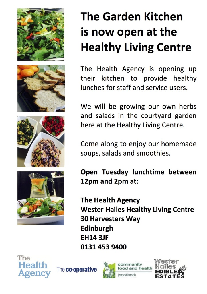 Health Agency Garden Kitchen Poster