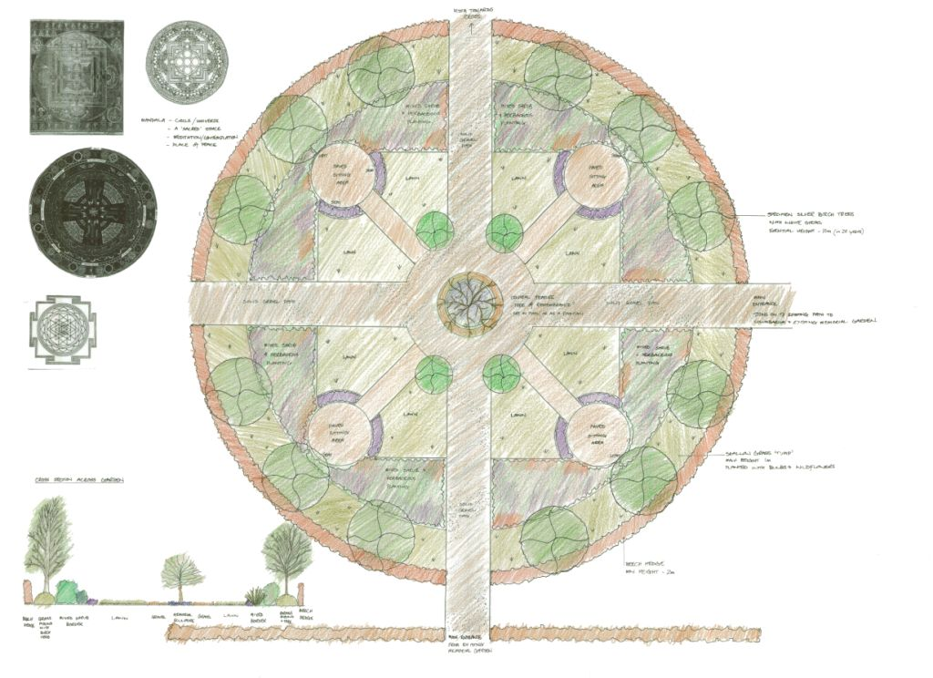 Mortonhall Memorial Garden Design 1