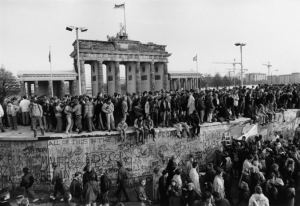 The Fall of the Wall, Berlin, by Barbara Klemm