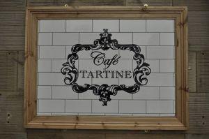 cafe tartine sign