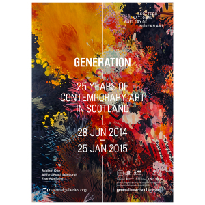 generation exhibition poster 2014-15
