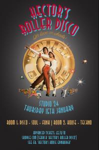 hector's roller disco poster