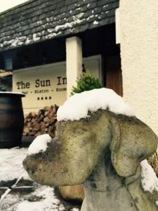 the sun inn in winter
