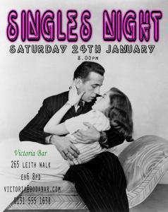 victoria bar singles night Jan 2015