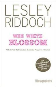wee white blossom - book cover