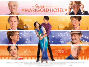 2nd best marigold hotel poster