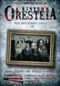 A Winter's Oresteia poster