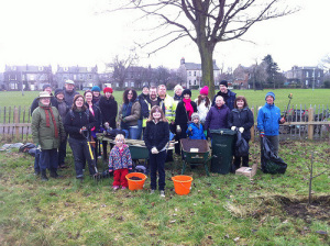 Pruning Day photo at Leith Links - Greener Leith