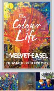 The Colour of Life - Velvet Easel Gallery