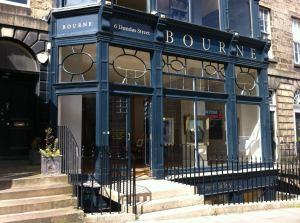 bourne fine art gallery exterior