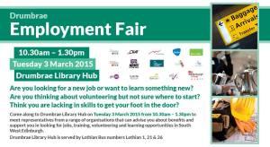 drumbrae employment fair poster