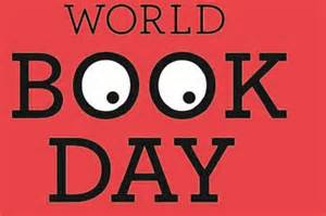world book day red logo