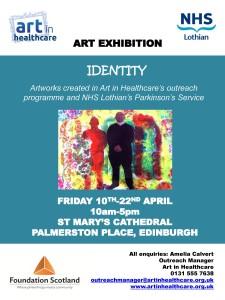 Artlink - Identity exhibition poster