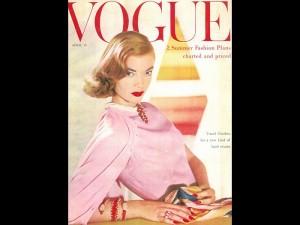 Pringle of Scotland: Vogue USA cover 1955