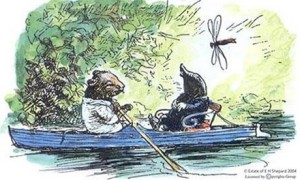The Wind in the Willows: illustration copyright estate of EH Shepard