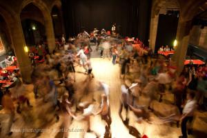 Ceilidh dance in Scotland