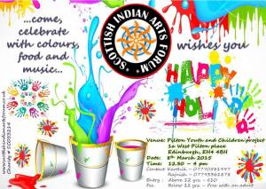happy holi - what's on 8th March