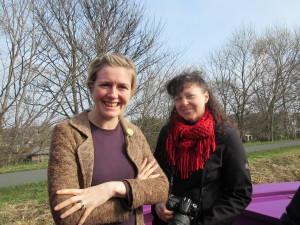 Jenny of Re-Union with Suzy of Healthy Edinburgh