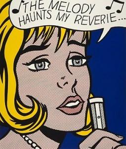 Reverie (from the portfolio 'Eleven Pop Artists Volume II). Roy Lichenstein, 1965: copyright The Estate of Roy Lichestein/DACS