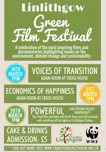 linlithgow Green Film Festival poster