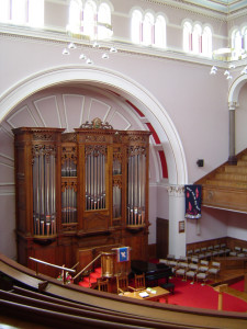palmerston place organ