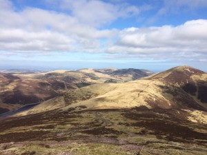 View from the Pentlands